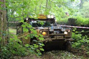 rassemblement de Land Roverr